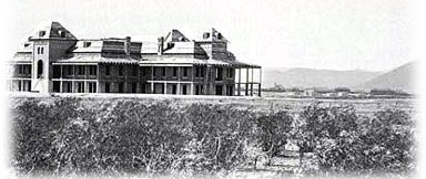 University of Arizona Old Main 1887 Photo
