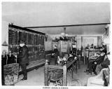 1890's stock exchange office photo